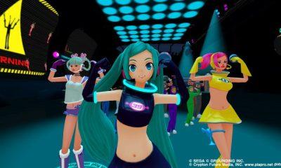 Hatsune Miku Space Channel 5 VR