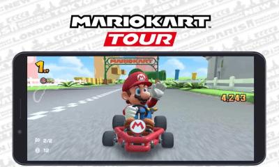 Mario Kart Tour Modo Horizontal