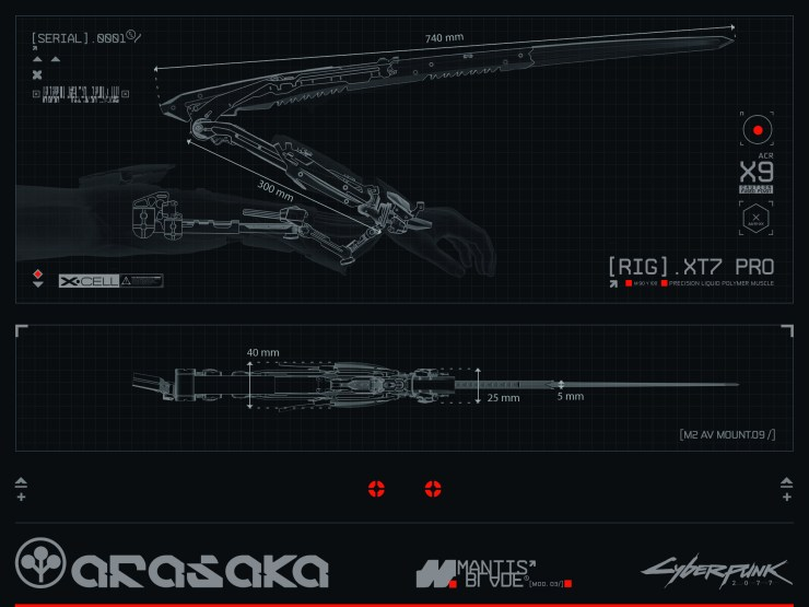 Cyberpunk 2077 - Herramientas de destrucción