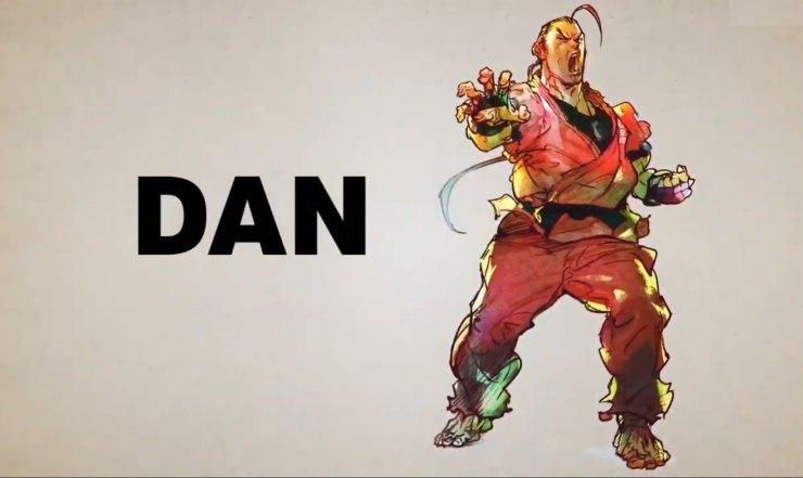 cuando llegará Dan a Street Fighter V