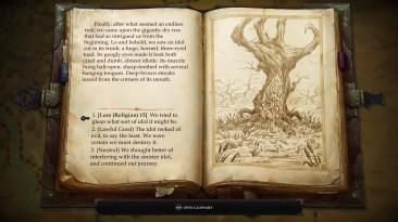 """Pathfinder: Kingmaker tiene secciones que se desarrollan como un libro de """"escoge tu propia aventura"""". Dependiendo de las aptitudes de la 'party', esta podrá tomar atajos y descubrir secretos."""
