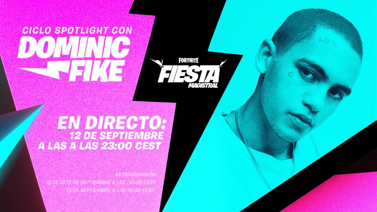 Dominic Fike Fortnite Fiesta Magistral