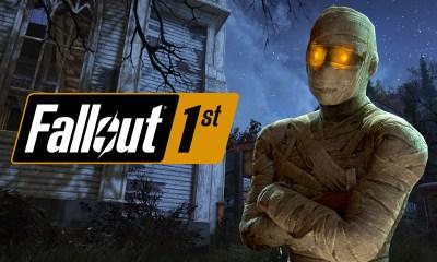 Fallout 76 momia halloween