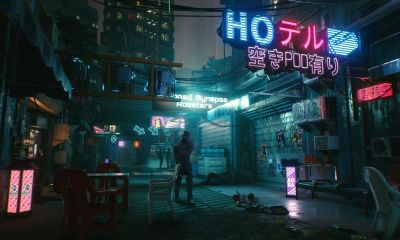 Cyberpunk 2077 Night City mapa