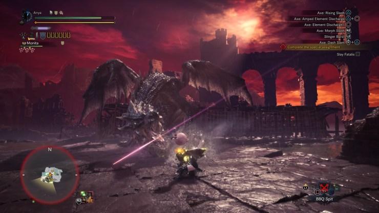 Monster Hunter World Iceborne dragon negro