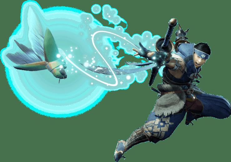 Wirebug de Monster Hunter Rise