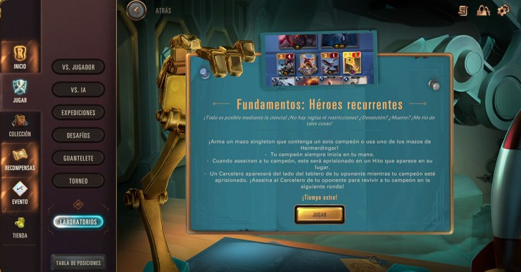 Legends Runeterra versión 1.15