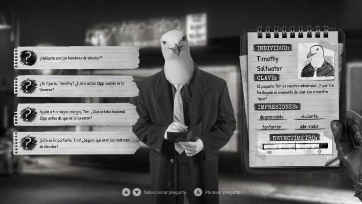 chicken police análisis