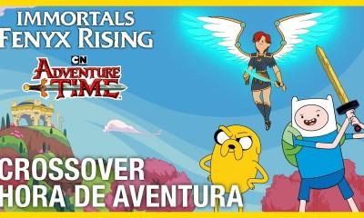 Hora de Aventura Immortals Fenyx Rising