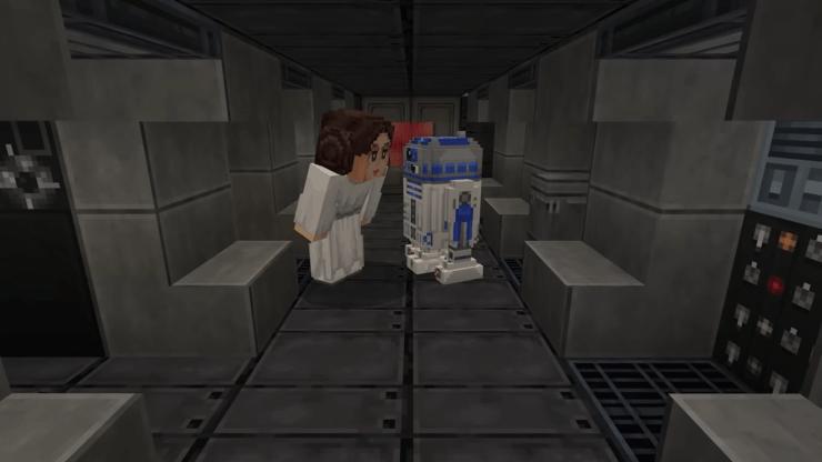 Star Wars Minecraft The Mandalorian DLC
