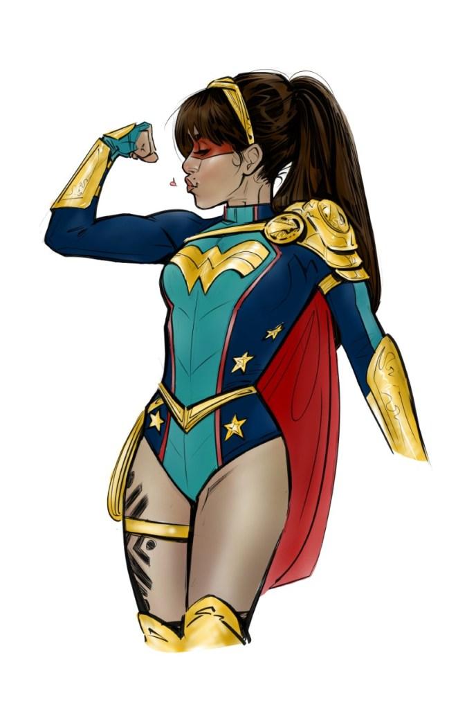 Wonder Girl Yara Flor