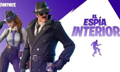 Fortnite espía interior