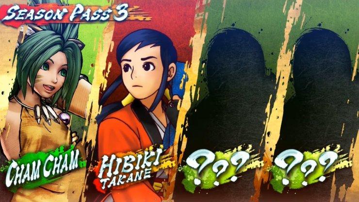 Samurai Shodown Pase Temporada 3 lanzamiento personajes Cham Cham Hibiki Takane
