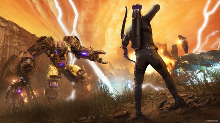 Marvel's Avengers PS5 Xbox Series X Hawkeye fecha lanzamiento habilidades War Table