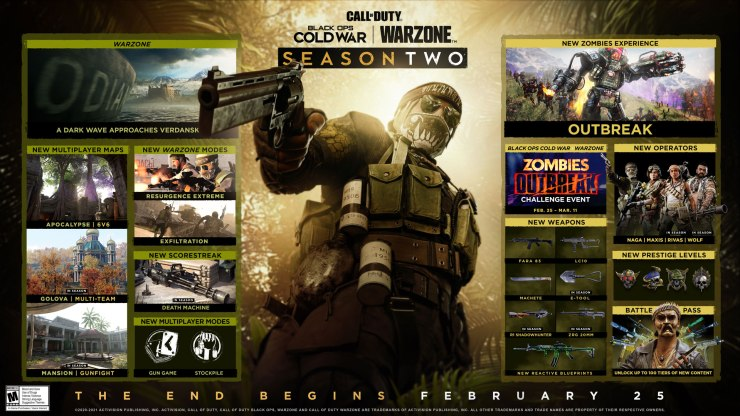 Call of Duty: Warzone Black Ops Cold War temporada 2