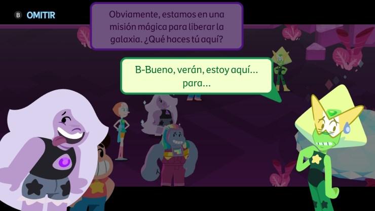 Steven Universe: Unleash the Light libera desata la luz reseña crítica análisis juego