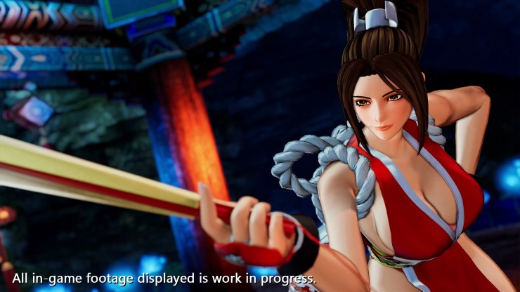 mai shiranui KOF XV The King of Fighters XV movimientos snk 2021