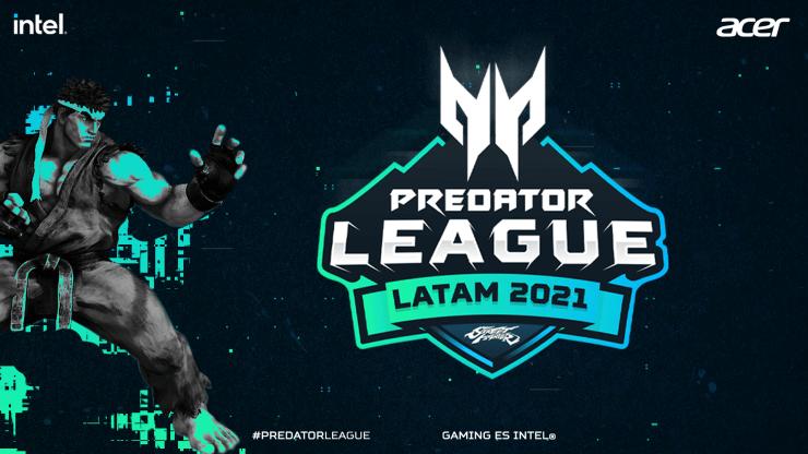 Portada Predator League LATAM Street FIghter 2021