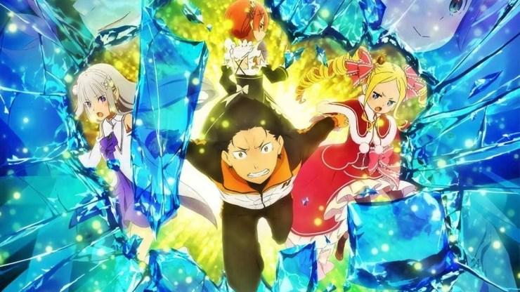 Crunchyroll anime doblaje español latino Tokyo Revengers Re:Zero To Your Eternity