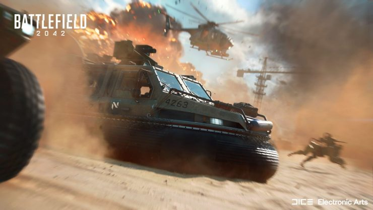 Battlefield 2042 fecha lanzamiento beta abierta requisitos PC armas jugabilidad