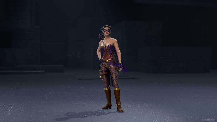 avengers traje trajes steampunk kate bishop juego marvel's