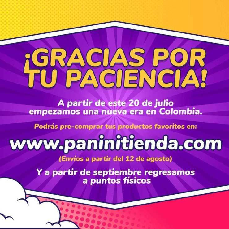 tienda en línea de Editorial Panini Colombia manga cómics preventa