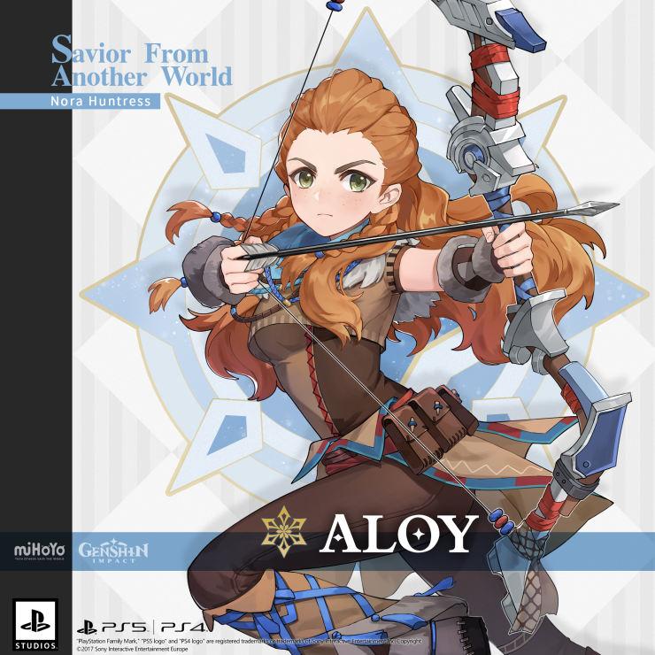 Aloy, de Horizon Zero Dawn, se une a Genshin Impact, cómo conseguirla en la actualización 2.1