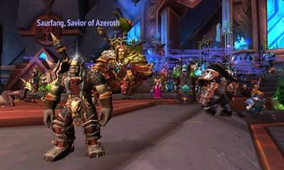 Jugadores de WoW protestan dentro del juego contra Activision Blizzard protestas