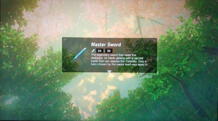 breath of the wild espada maestra
