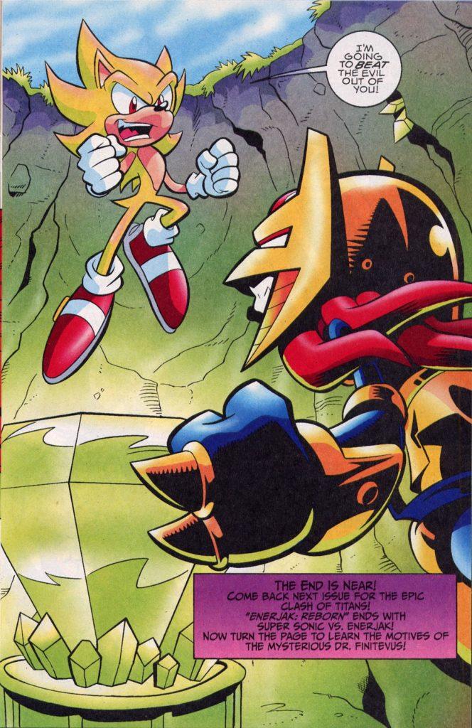 Sonic the hedgehog aniversario 30 dioses demonios deidades