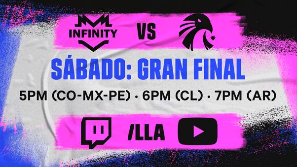 LLA Clausura 2021 final campeón Infinity Estral Esports Worlds