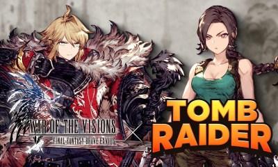 Cloud, Tifa, Aerith, Barret y Lara Croft se unen a War Of The Visions Final Fantasy Brave Exvius