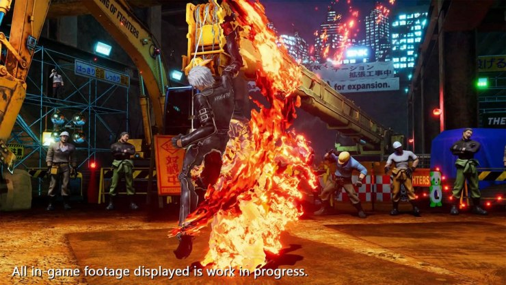 TGS 2021 cómo pelea k' tráiler kof xv The King of Fighters XV
