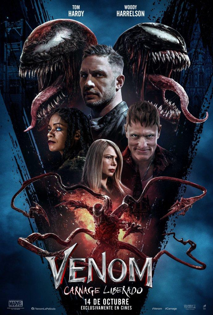 Venom Carnage Liberado Let There Be Colombia Latinoamérica fecha estreno Eddie Brock Cletus Cassidy