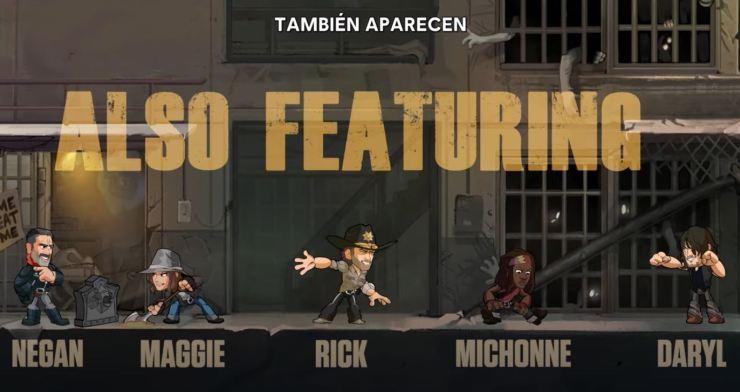 Brawlhalla: Negan Maggie personajes de The Walking Dead se unen al combate