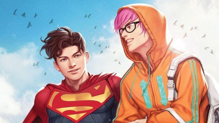 El nuevo Superman en los cómics, Jon Kent, revela que es bisexual