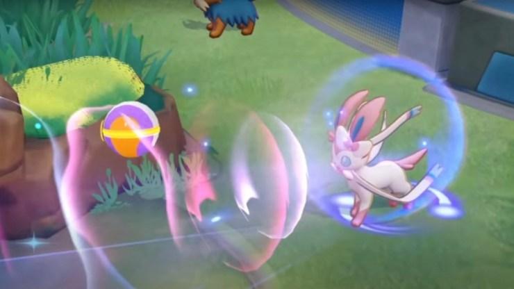 Pokémon Unite: fecha de lanzamiento y movimientos de Sylveon