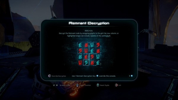 Mass Effect Andromeda How To Solve Remnant Puzzle Gamerfuzion