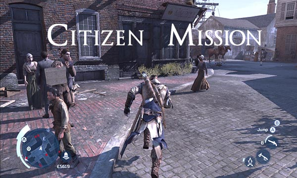 Assassins Creed 3 Citizen Mission