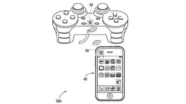 Apple patents video game controller and remote controller