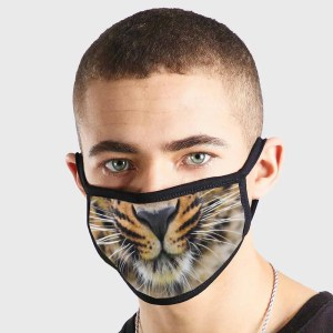 Animal Tiger Smile Non Medical 3 Ply Face Mask