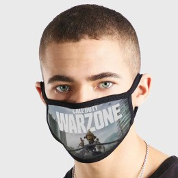 Call Of Duty Warzone Non Medical 3 Ply Face Mask