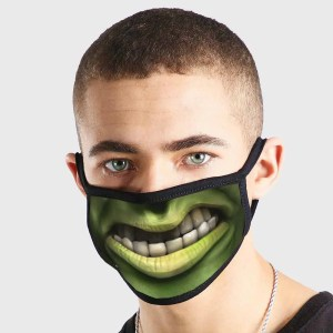 Hulk Mouth Non Medical 3 Ply Face Mask