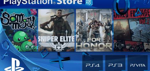 Playstation Store mise à jour 14 février 2017