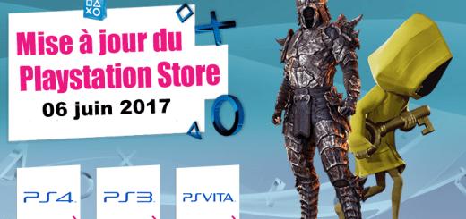 Mise à jour playstation store 06 juin 2017