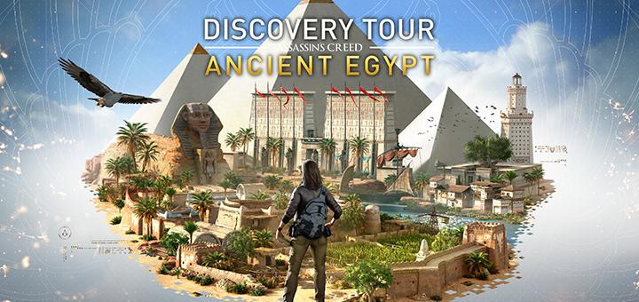Assassin's Creed Origins DLC Discovery Tour Ancient Egypt