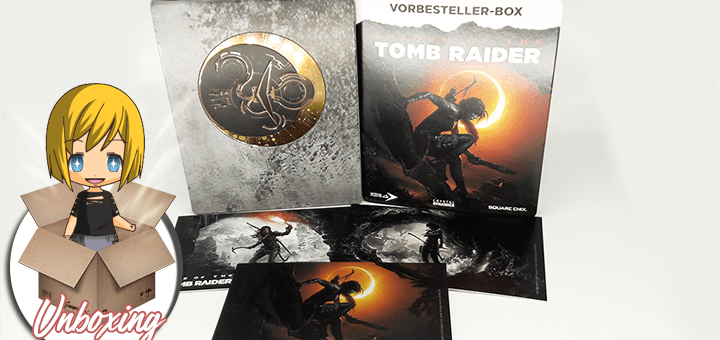 Steelbook Shadow of the Tomb Raider