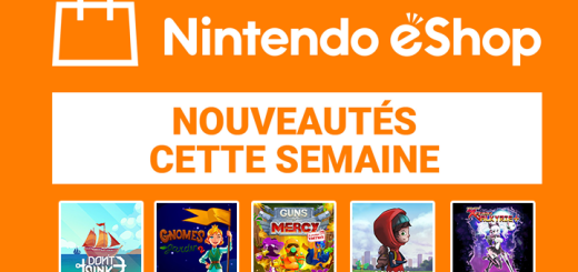 Nintendo eShop mise à jour du 4 janvier 2019