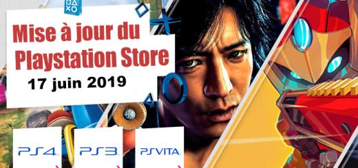 Playstation Store mise à jour du 17 juin 2019