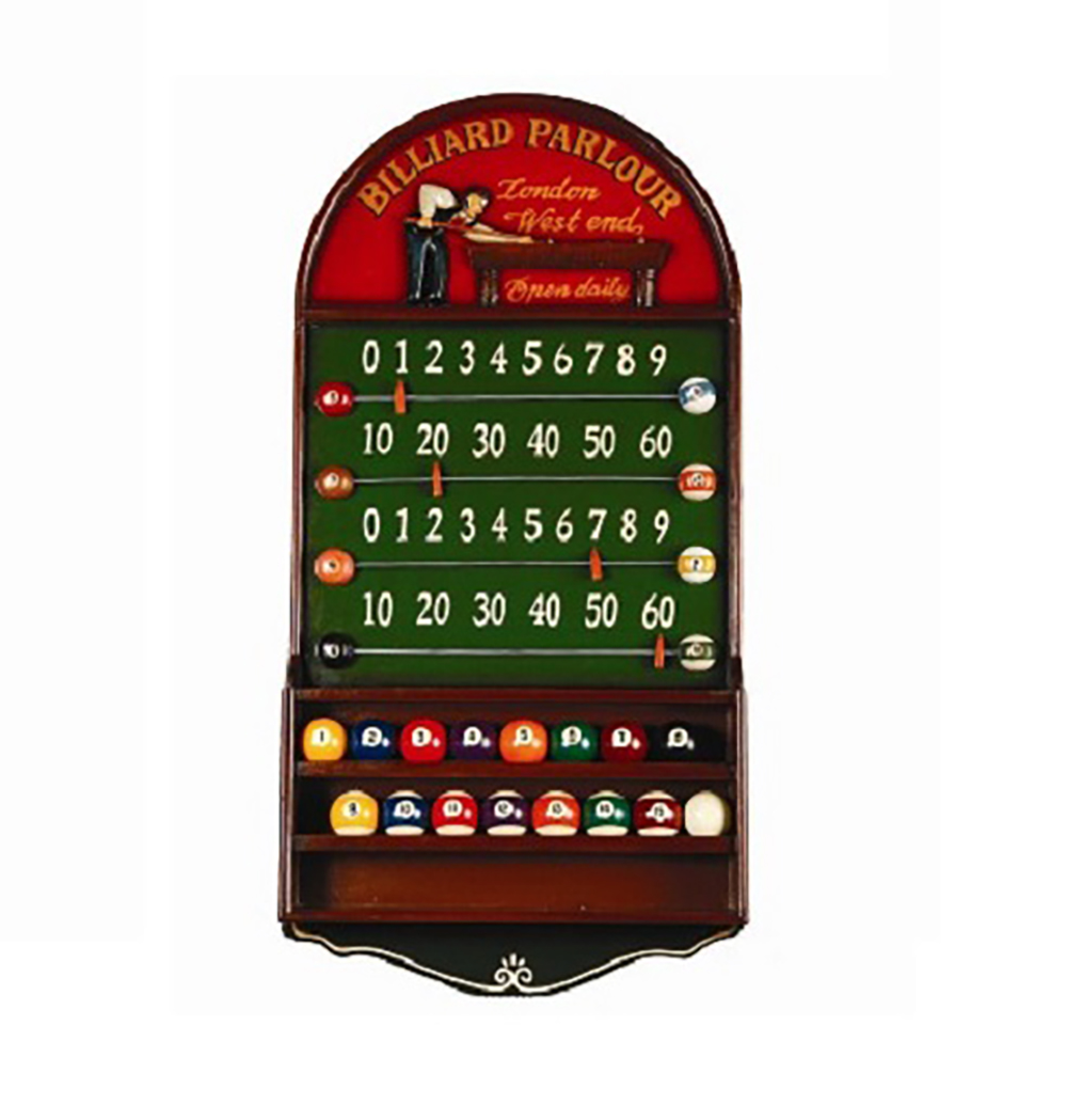Billiard Parlour ScoreboardBall Pub Sign Game Room Guys